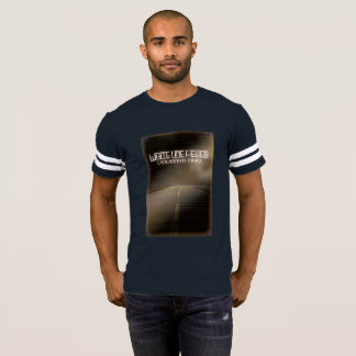 Tall Brown Road Football Shirt