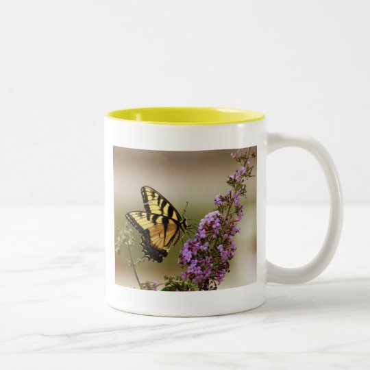 Tall Butterfly Coffee Mug