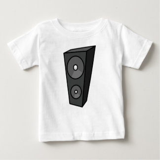 Tall Cartoon Speaker Baby T-Shirt