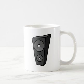 Tall Cartoon Speaker Coffee Mug
