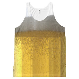 Tall Cool Glass Of Beer Tank