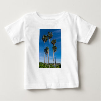 Tall Curving Palms Baby T-Shirt