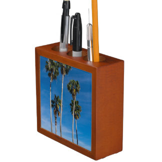 Tall Curving Palms Desk Organizer