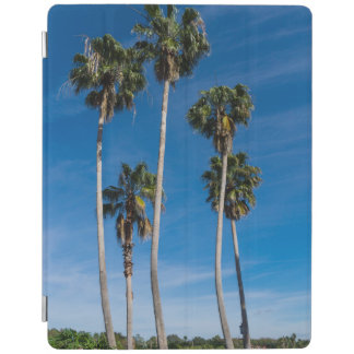 Tall Curving Palms iPad Cover