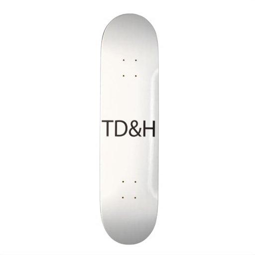 Tall, Dark and Handsome.ai Skateboard Decks