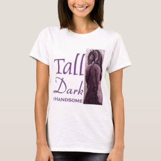 Tall Dark & Handsome -  Friesian Horse T-Shirt