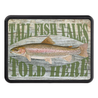 Tall Fish Tales trailer hitch cover