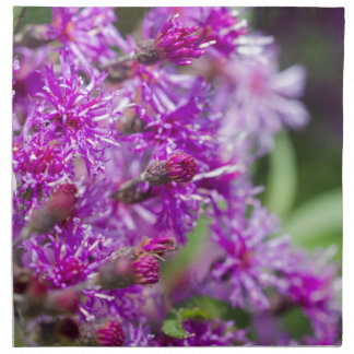 Tall Ironweed Wildflowers Napkin