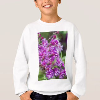 Tall Ironweed Wildflowers Sweatshirt