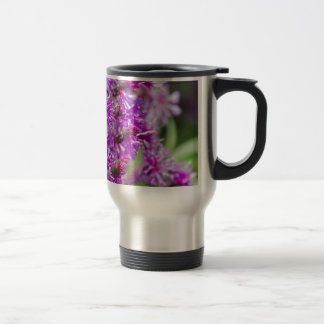 Tall Ironweed Wildflowers Travel Mug