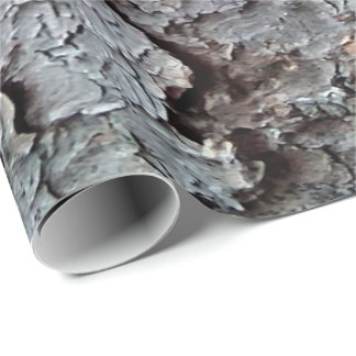 Tall Pine Tree Bark Wallpaper