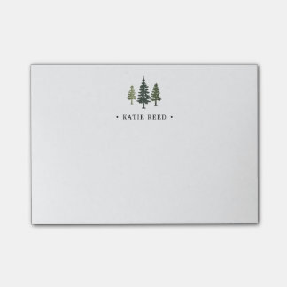 Tall Pines Personalized Post-it Notes