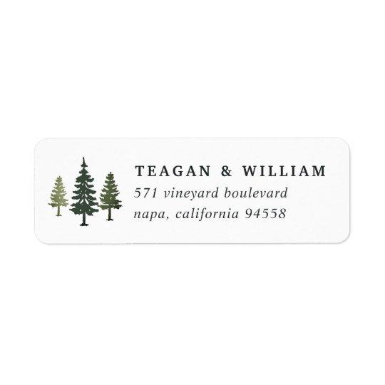Tall Pines Return Address