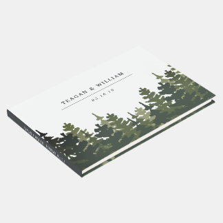 Tall Pines Wedding Guest Book