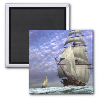 Tall Ship and Ketch Magnet