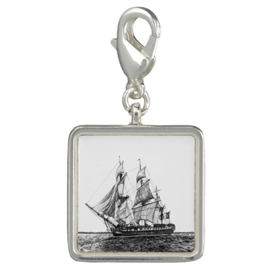 Tall Ship Hermione Square Charm