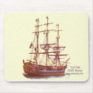 Tall Ship HMS Bounty Mousepad