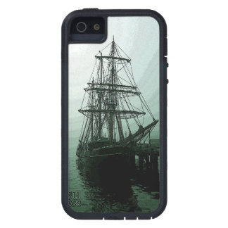 Tall ship in Fog S5 iphone case