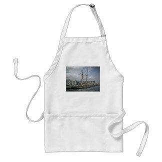 Tall Ship in Halifax Apron