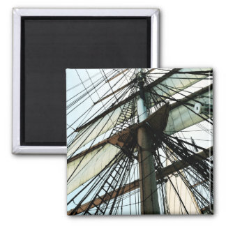 Tall Ship Mast & Sails Magnet