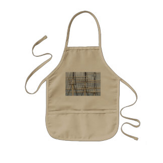 Tall Ship Rigging Wires Kids Apron