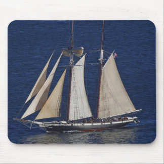 Tall Ship Seen From The Cabrillo Monument Mouse Pad