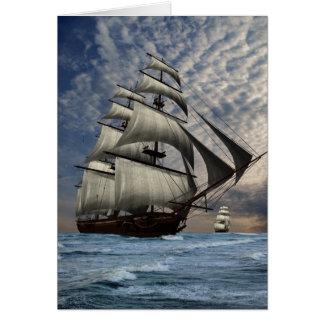 tall ships card