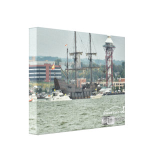 Tall Ships Erie PA 2016 el galeon ship Canvas Print