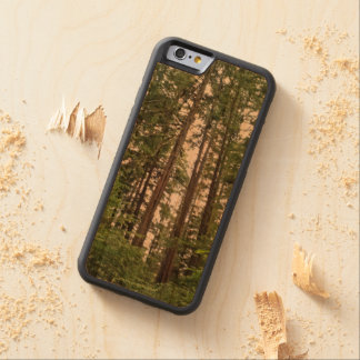 Tall Trees Carved Wood Phone Case