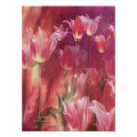 Tall Tulips Art Poster/Print