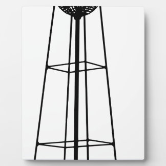 Tall Water Tower Plaque