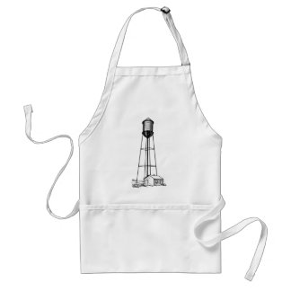 Tall Water Tower Standard Apron