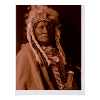 Tall Whiteman - Cheyenne Poster