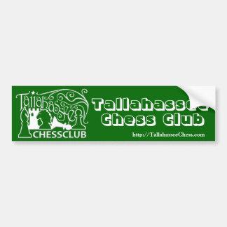 Tallahassee Chess Club Bumper Sticker Car Bumper Sticker