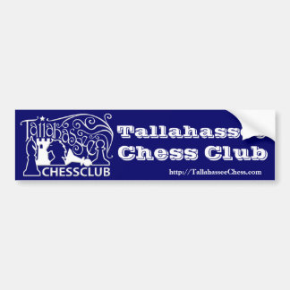 Tallahassee Chess Club Bumper Sticker