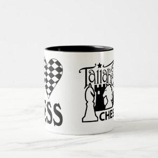 Tallahassee Chess Club I Love Chess Mug