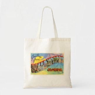 Tallahassee Florida FL Old Vintage Travel Souvenir Tote Bag