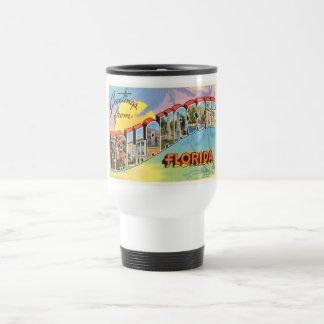 Tallahassee Florida FL Old Vintage Travel Souvenir Travel Mug