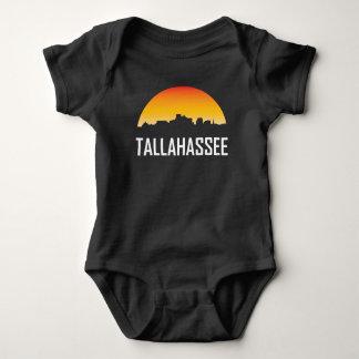 Tallahassee Florida Sunset Skyline Baby Bodysuit