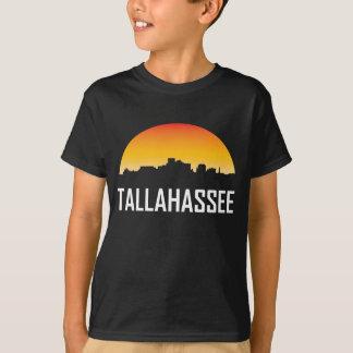 Tallahassee Florida Sunset Skyline T-Shirt