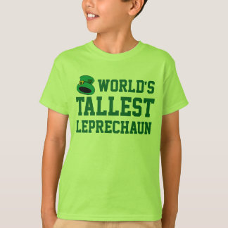 Tallest Leprechaun Kid's Funny St. Patrick's Day T-Shirt