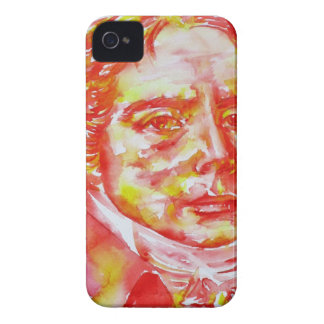 talleyrand - watercolor portrait iPhone 4 Case-Mate case