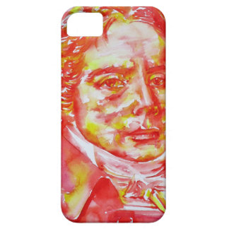 talleyrand - watercolor portrait iPhone 5 cover