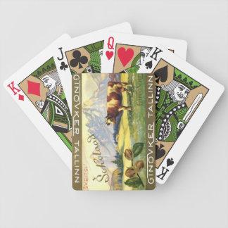 Tallinn Chocolate Bar Wrapper Playing Cards