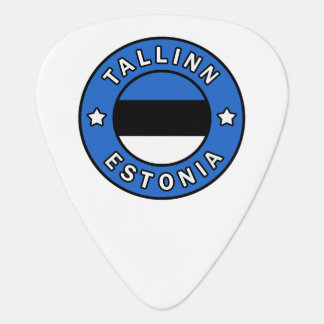 Tallinn Estonia Guitar Pick