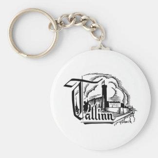 Tallinn, Estonia Keychain