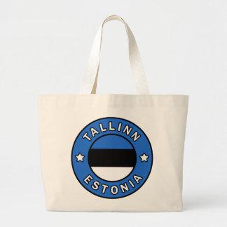 Tallinn Estonia Large Tote Bag