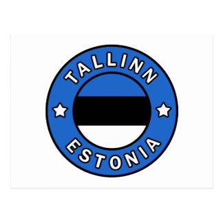 Tallinn Estonia Postcard