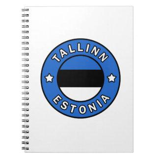 Tallinn Estonia Spiral Notebook