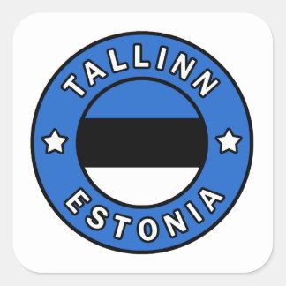 Tallinn Estonia Square Sticker